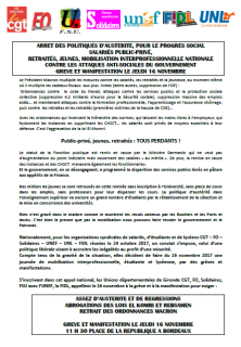 Tract unitaire Gironde