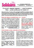 Tract Solidaires Accord Medef