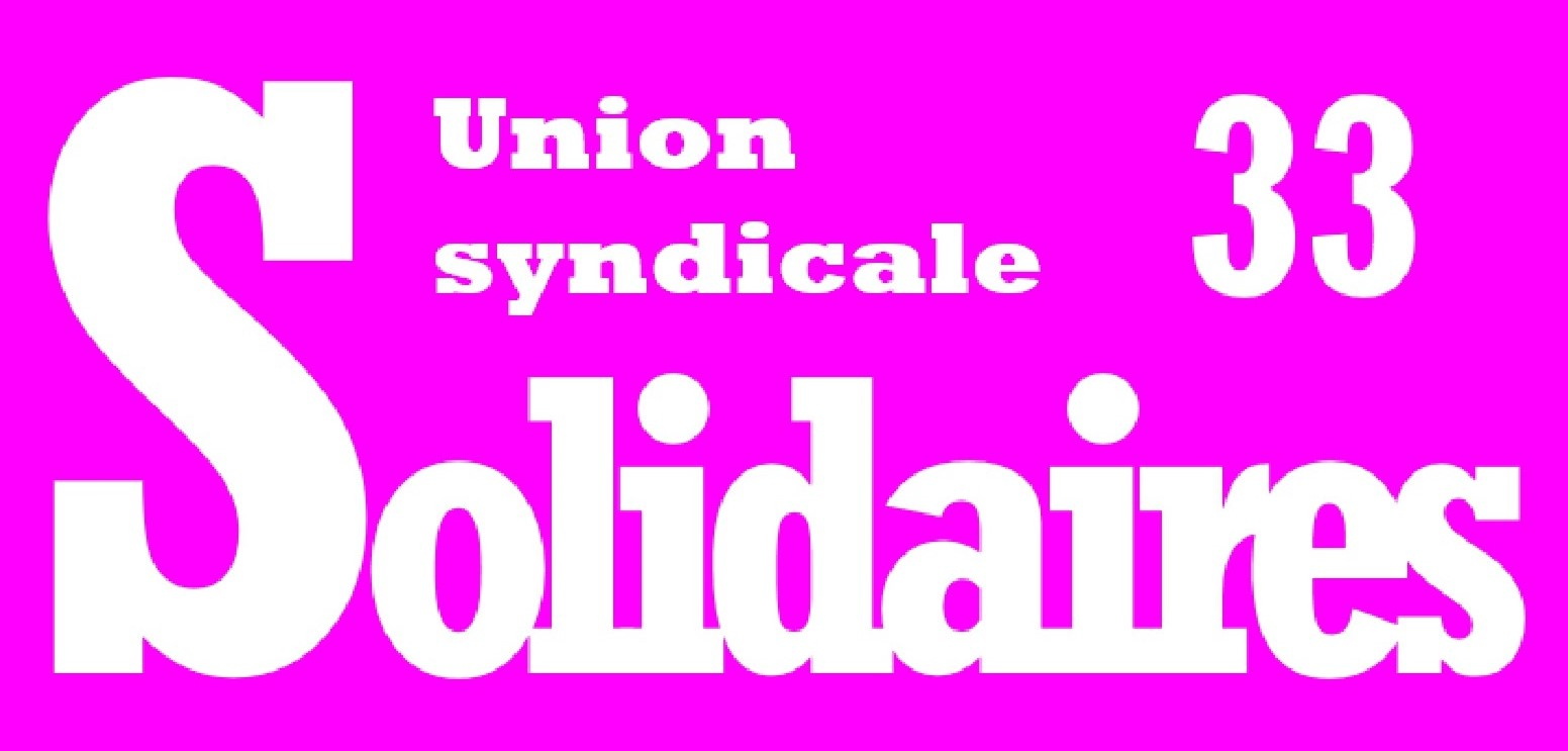 Logo Solidaires 33