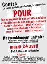 Manifestation 24 avril Bordeaux